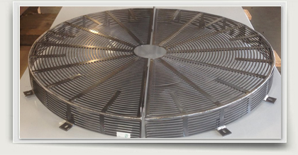 fan guard heat exchanger